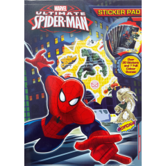Ultimate Spider-man sticker pad