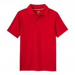 French Toast school  red polo