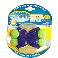 Griptight Gripper Teething Rattle