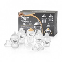 Tommee Tippee Closer To Nature Bottle Feeding Starter Set