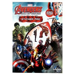 Avengers Age of Ultron Sticker Pad
