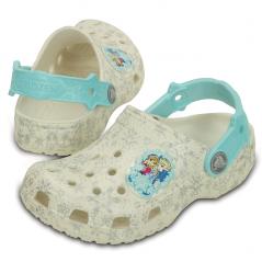 Disney Glitter Frozen Crocs