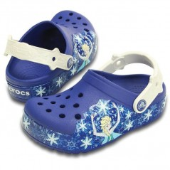 Frozen Elsa Comfort Crocs
