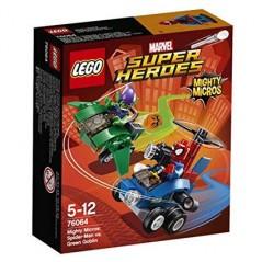 LEGO super heroes mighty micros Spiderman vs Green Goblin