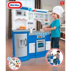 Little tikes prep n serve gourmet kitchen- blue