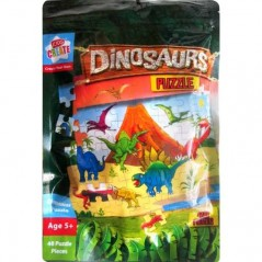 Kids Create  Your Own Dinosaurs Puzzle - 48 Piece