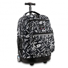 J World Sundance Rolling Backpack Script