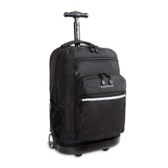J World Sundance Rolling Backpack Black