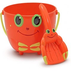 Melissa & Doug Sunny Patch Clicker Crab Pail &