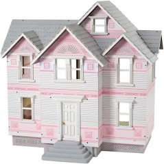 Melissa and Doug wooden victorian dollhouse
