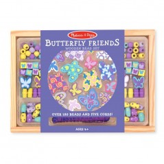 Melissa & Doug Butterfly Friends Wooden Bead Set