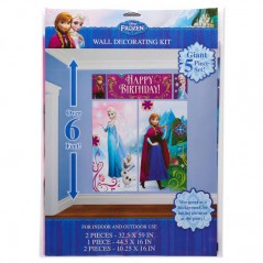 Disney Frozen Wall Decoration Kit