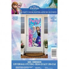 Disney Frozen Party Door Poster