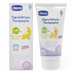 Chicco Banana & Apple Toothpaste - 6 months