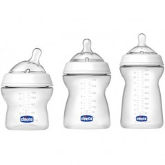 Chicco Step Up Feeding Bottle Gift Set - 3in1