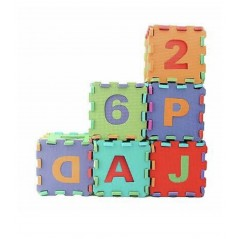 A to Z Eva Number Puzzle Mat