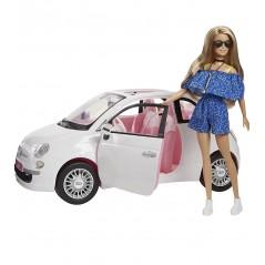 Barbie Fiat Doll Car