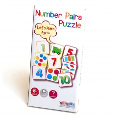 Ackerman International Let's Learn Number Pairs Puzzle