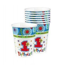 OneDerful First Birthday Cups